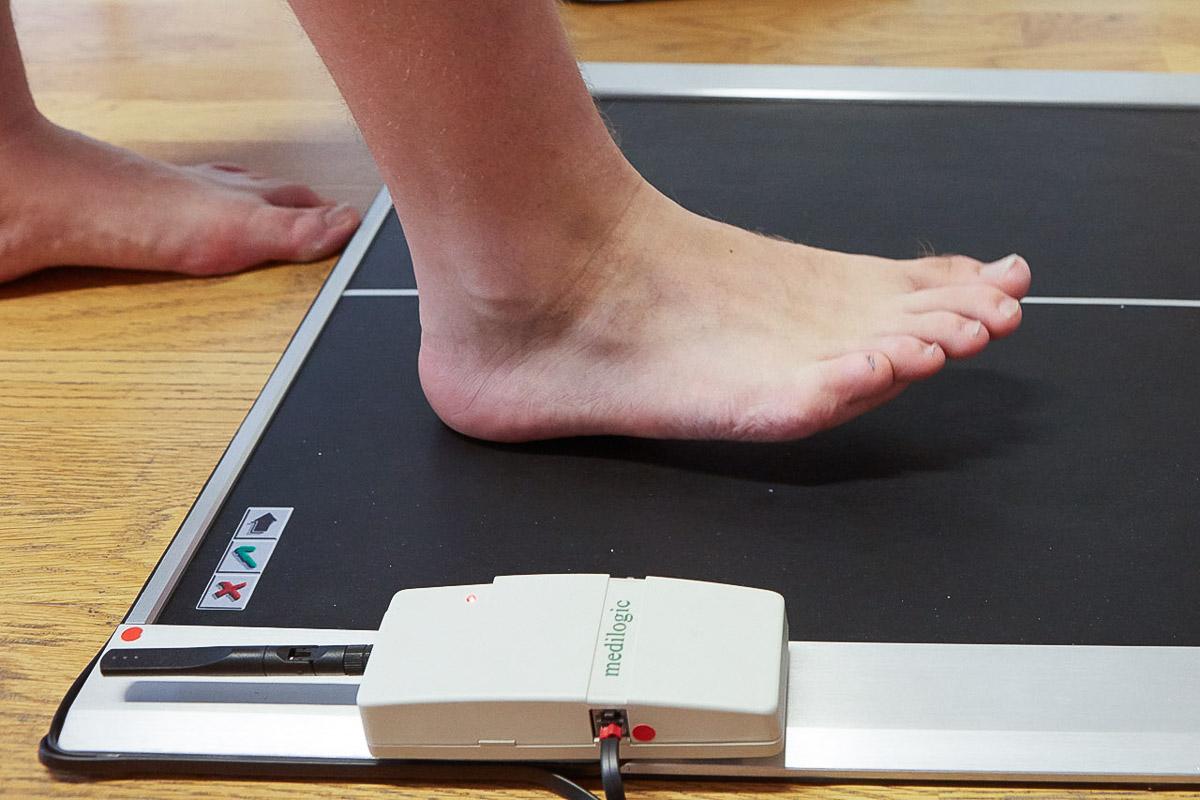 Sensomotorische Fußdruckmessung / Ganganalyse Vorschau