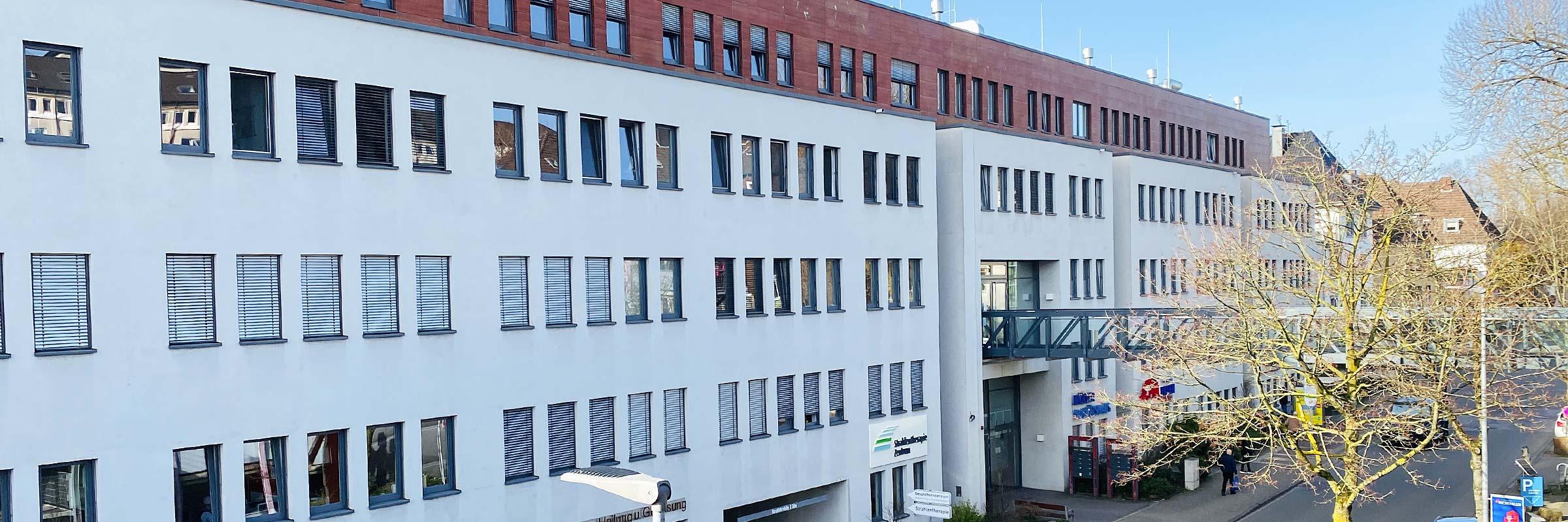 Privatpraxis für Orthopädie, Unfallchirurgie und Sportmedizin – Notfallpraxis Standort Bochum Aussenansicht